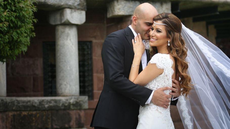 wedding photos bride and groom
